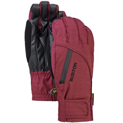 Burton Womens Baker 2-In-1 Under Glove Sangria