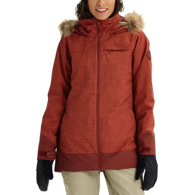 Burton Lelah Jacket Sparrow Heather