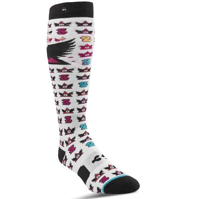 Thirtytwo Snowboard Socks Asi White