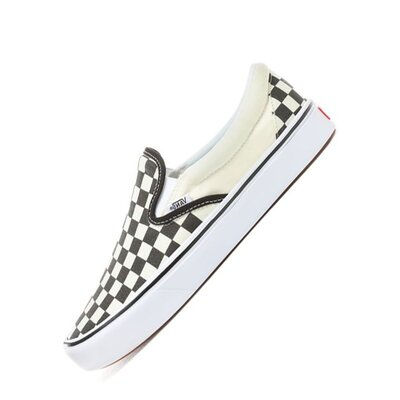 Vans Slip On (Checkerboard) Black/White