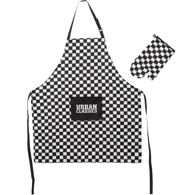 Urban Classics Barbecue Set black/white