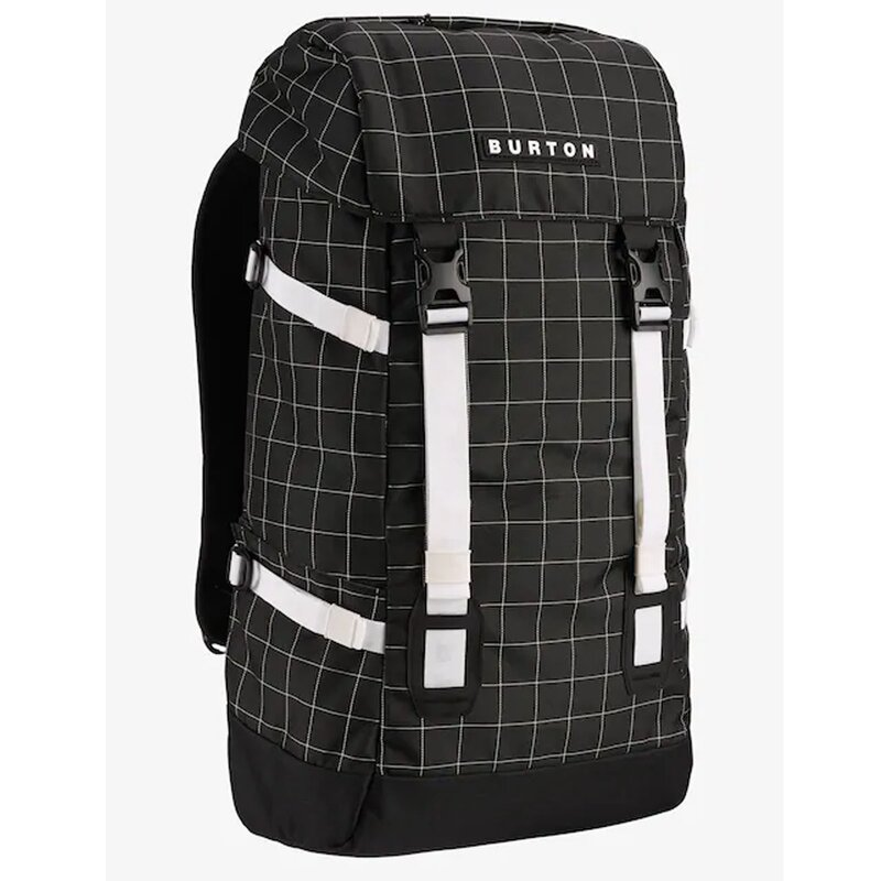 Burton Tinder Backpack True Black Oversized Ripstop