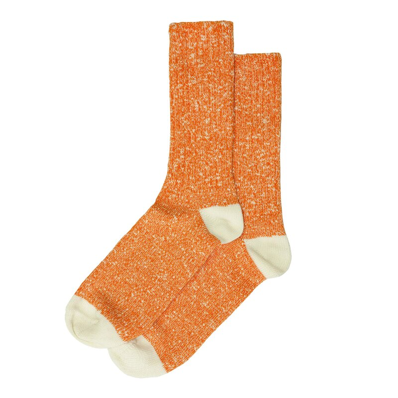 Wemoto Socks Ripon Orange Melange