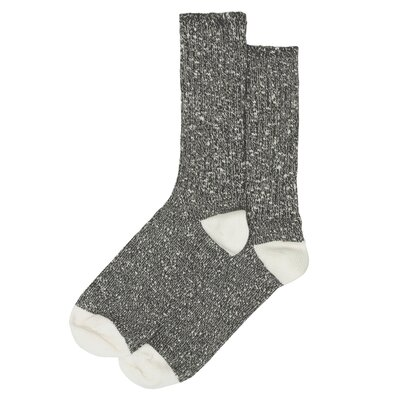 Wemoto Socks Ripon Black Melange