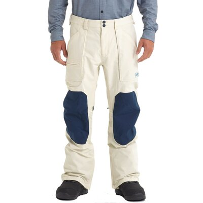 Burton Southside Pant Almond Milk/Blue