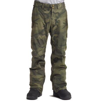 Burton Cargo Pant Regular Worn Camo