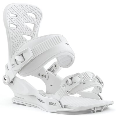 Union Rosa Snowboard Bindung White
