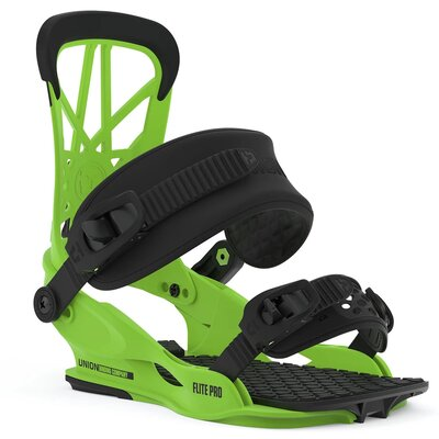 Union Flite Pro Snowboard Bindung Acid Green