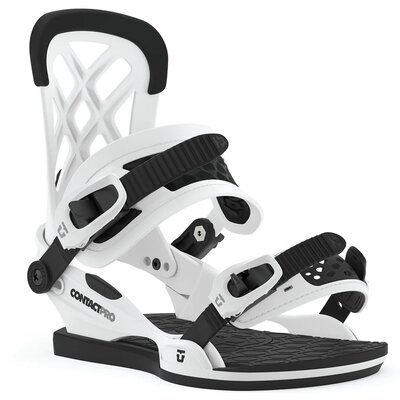 Union Contact Pro Snowboard Bindung White