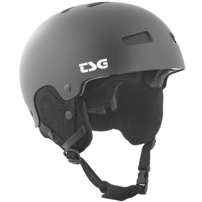 TSG Snow Helm Arctic Kraken Solid Satin Black