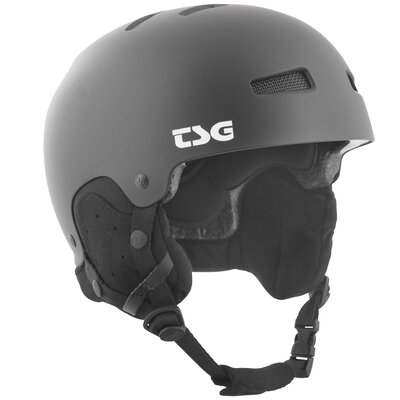 TSG Snow Helm Gravity Solid Satin Black