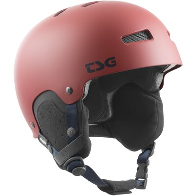 TSG Snow Helm Gravity Solid Satin Dark Red