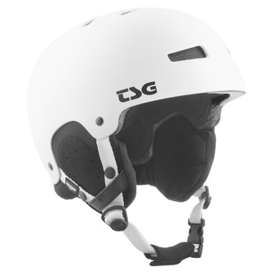 TSG Snow Helm Gravity Solid Satin White
