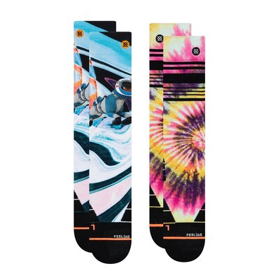 Stance Womens Snow Socks Mountain 2-Pack