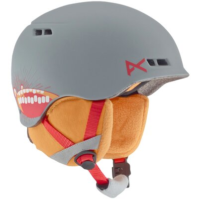 Burton Anon Youth Burner Helm Gray