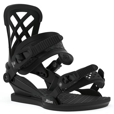 Union Milan Snowboard Bindung Black