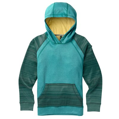 Burton Girls Crown Bonded Hoody Tahoe Heather