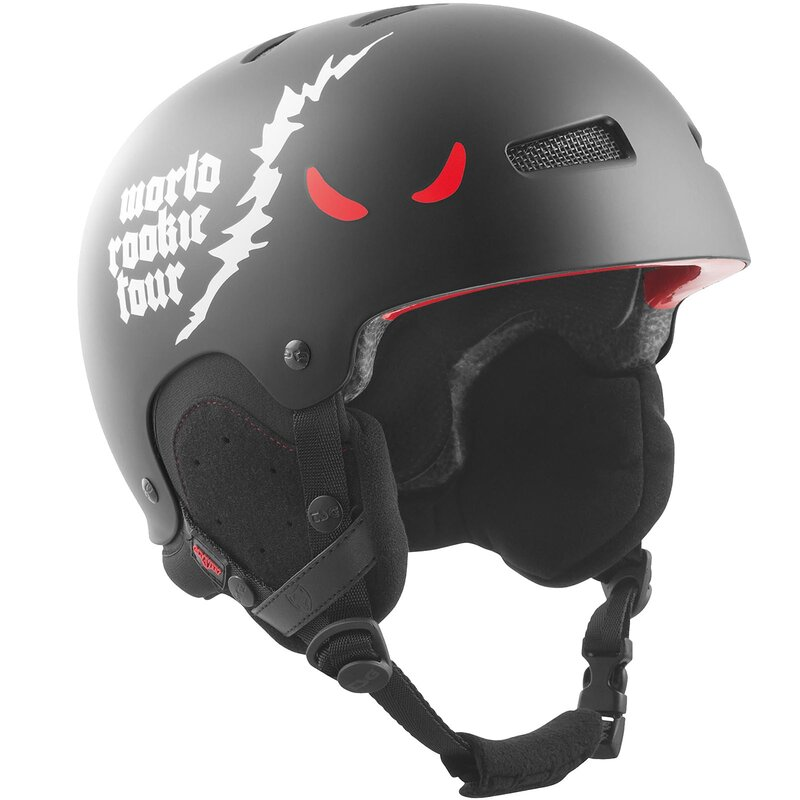TSG Snow Helm Gravity Solid World Rookie Tour