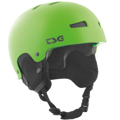 TSG Snow Helm Gravity Solid Satin Lime Green