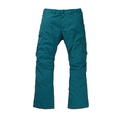 Burton Cargo Pant Relaxed Deep Teal Acid Wash