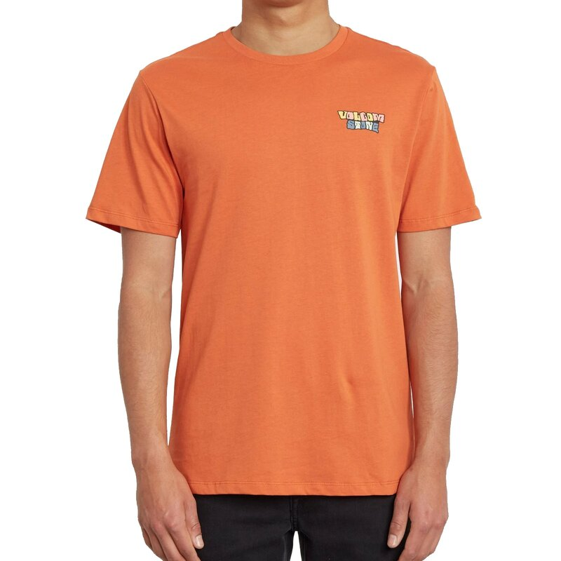 Volcom Daybreak FTY S/S Tee Burnt Orange