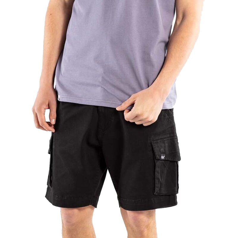 Reell City Cargo Short ST Black