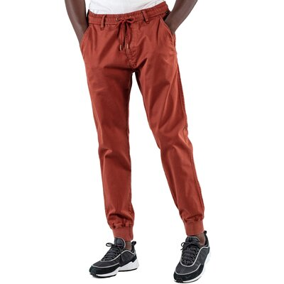Reell Reflex Rib Pant Red Brown