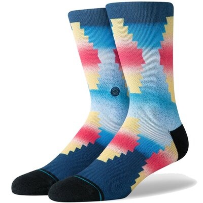 Stance Combed Cotton Socks Glass Beach