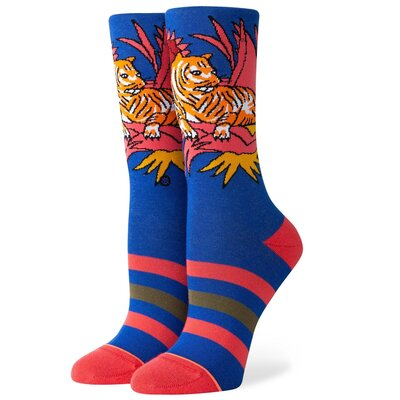 Stance Womens Socks Tiger Belly Crew