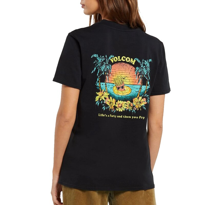 Volcom Lock It Up Tee Black