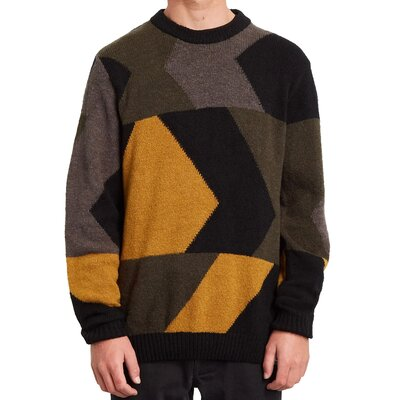 Volcom Williekearl Crew Sweater Golden Brown