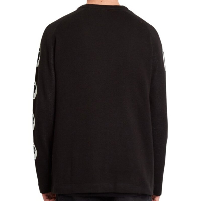 Volcom X GIRL Crew Sweater Black