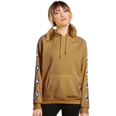 Volcom Deadly Stones PO Hoodie Vintage Gold