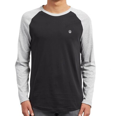 Volcom Pen BSC L/S Tee Heather Grey