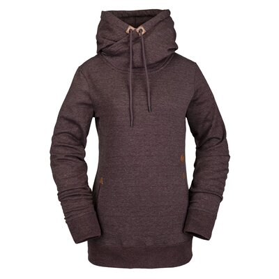 Volcom Tower P/Over Fleece Black Red