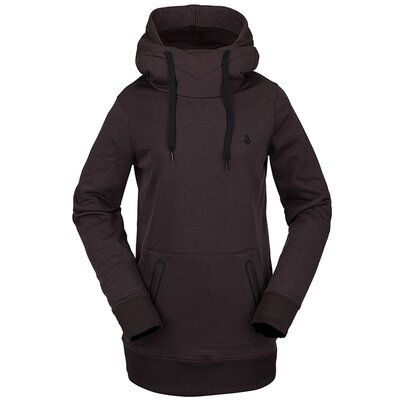 Volcom Polartec Ridin Hoody Black/Red
