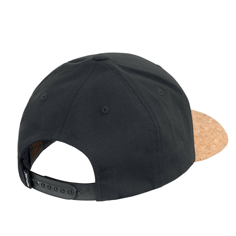 Picture Lines Baseball Snapback Cap Black