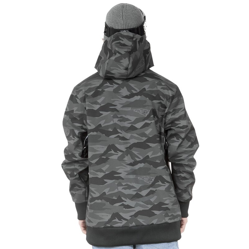 Picture Parker Softshell Hoody Jacket Metric Black