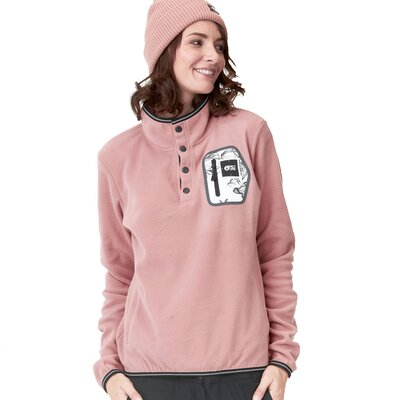 Picture Clay Polartec Fleece Pullover Misty Pink