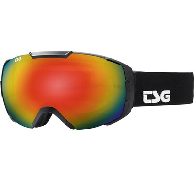 TSG Goggle One Solid Black + Bonus Lens