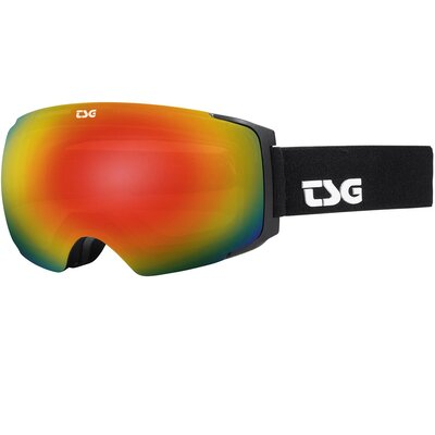 TSG Goggle Two Solid Black + Bonus Lens