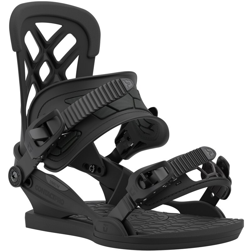 Union Contact Pro Snowboard Bindung Black