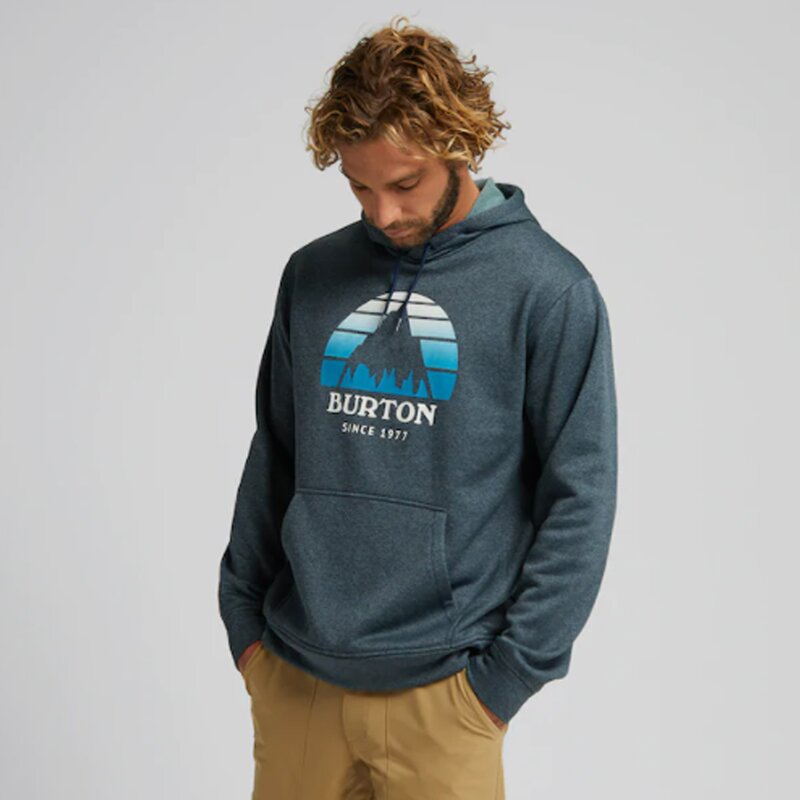 Burton Oak SSNL PO Hoodie Dress Blue Heather