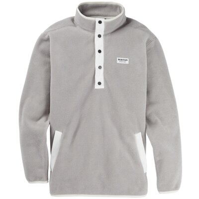 Burton Hearth Fleece Pullover Iron Gray