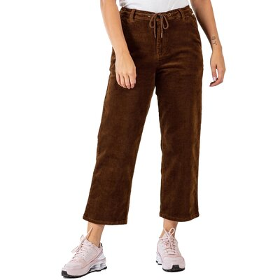Reell Reflex Women Loose Chino Brown Cord