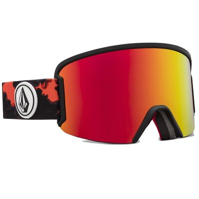 Volcom Goggle Garden Smoke/Red Chrome