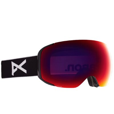 Anon M2 Goggle Black/PERCEIVE Sunny Red + Spare