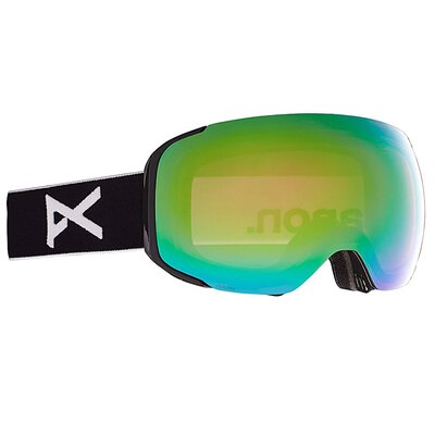 Anon M2 Goggle Black/PERCEIVE Variable Green + Spare + MFI