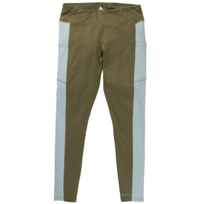 Burton Womens Midweight Pant Martini Olive/Blue