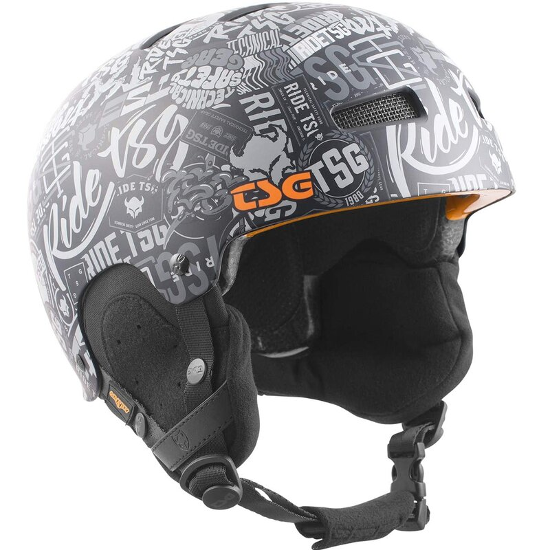 TSG Snow Helm Gravity Graphic Design Stickerbomb
